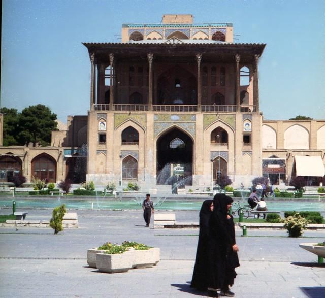 Iran - Ispahan - Palais place royale