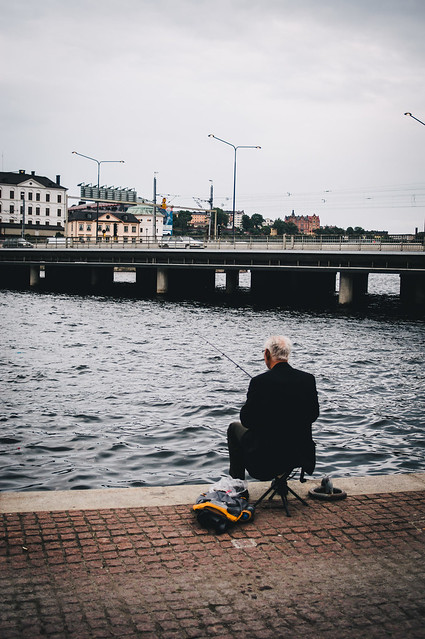 Senior fisher