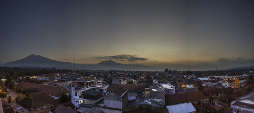 city sunset panorama mountain indonesia landscape afternoon panoramic salatiga centraljava merbabu jawatengah d3200 rawapening