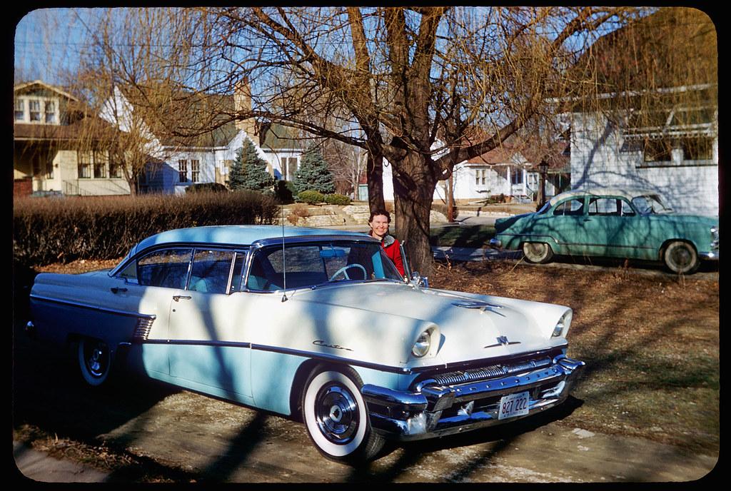Aunt Hattie & Her 1956 Mercury