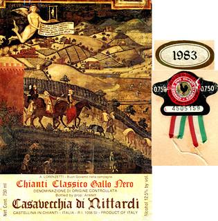 Italy - Chianti Classico Nittardi 1983