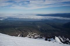 Lake Villarrica Under a Cloud Inversion