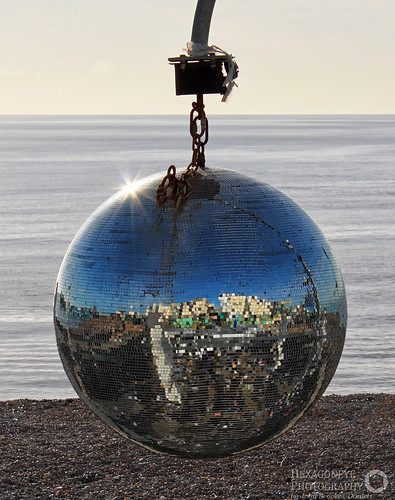 Beach Mirror Ball | by Hexagoneye Photography