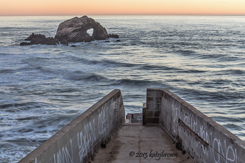 sanfrancisco sunset nature sutrobaths katejbrown