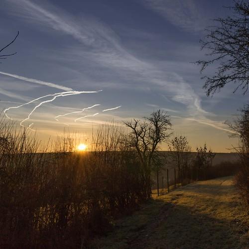 germany landscape deutschland december eifel dezember landschaft sonne sonnenaufgang