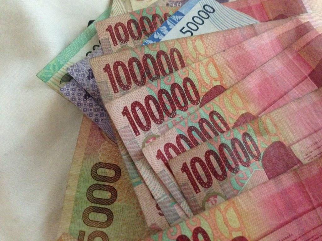Sedler Penger Valuta Notes Money Rupiah Rupies Indonesia B Flickr