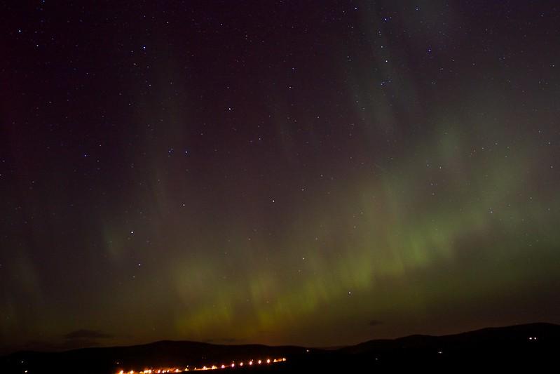 Aurora Borealis, 27th February 2014, Aberdeenshire
