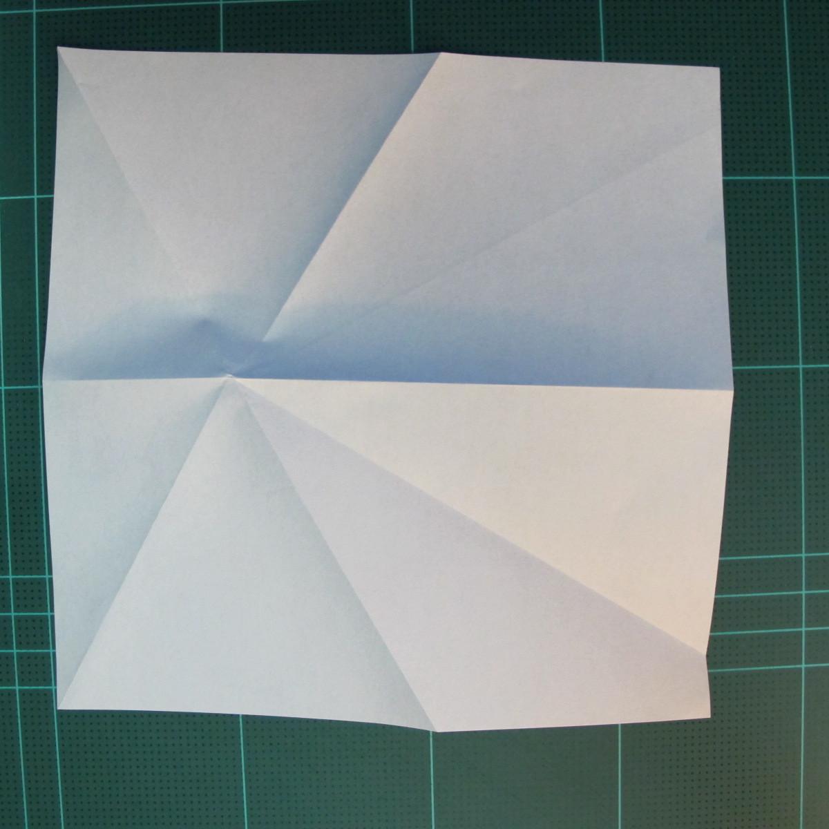 วิธีการพับกระดาษเป็นรูปกบ (แบบโคลัมเบี้ยน) (Origami Frog) 012