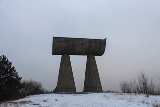 Miners' Monument, North Mitrovica | by Timon91