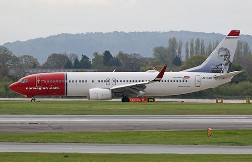 LN-NGK | Norwegian Boeing B737 | by Transport Pixels