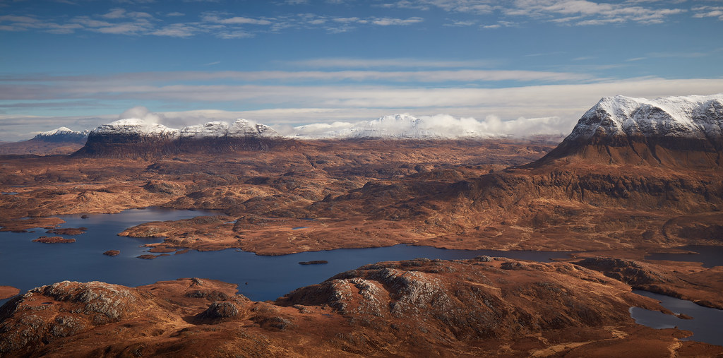 Winter Peaks: Quinag, Suilven, Canisp, Cul Mor
