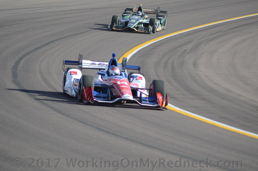 Another Mixed Result For AJ Foyt Racing Qualifying For The GoPro