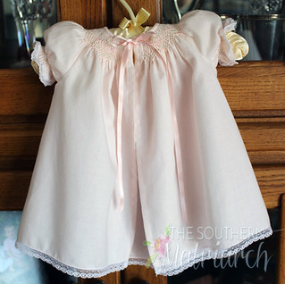 Smocked Wee Care Gown