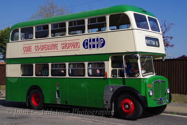 Ipswich Corporation Transport AEC Regent V / Massey 63, ADX 63B in the care of the Ipswich Transport Museum