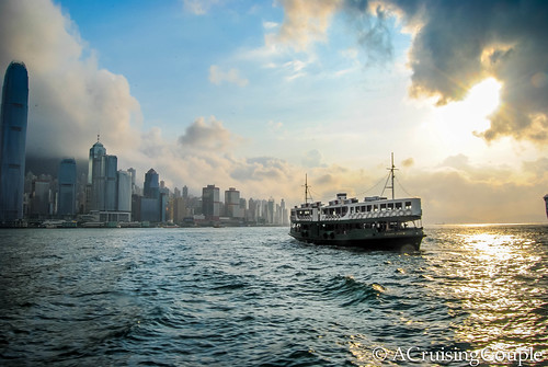 Star Ferry Sunset Victoria Harbor Hong Kong | by ACruisingCouple