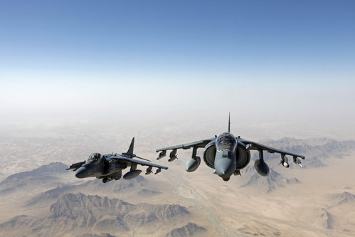 AV-8B Harriers with Marine Attack Squadron 311 Conduct a Refueling Mission [Image 2 of 21]   by DVIDSHUB
