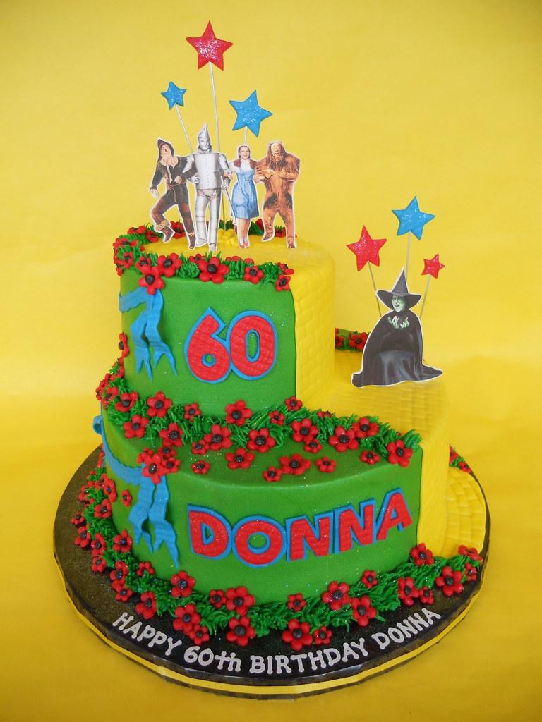Superb Wizard Of Oz 60Th Birthday Cake Amy Stella Flickr Funny Birthday Cards Online Bapapcheapnameinfo