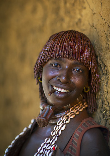 Hamer Tribe Woman, Turmi, Omo Valley, Ethiopia | by Eric Lafforgue