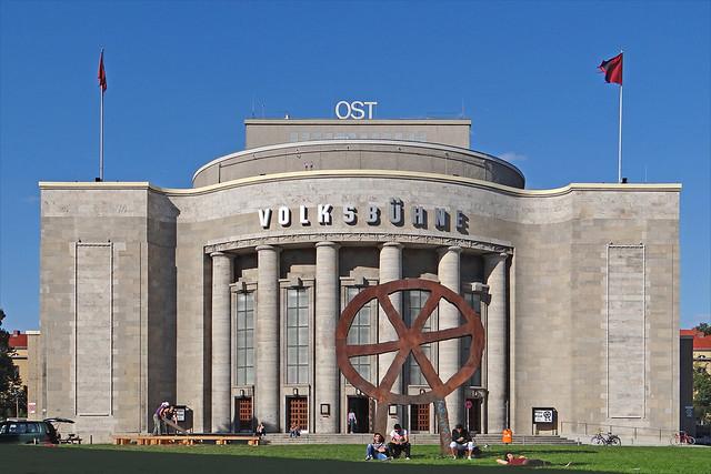 Le théâtre Volksbühne (Berlin)