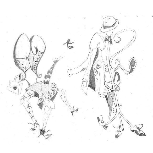 sketch coppia