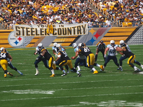 pittsburgh steelers vs tenn. titians 9-8-13 | by Paula R. Lively