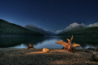 Night Over Bowman Lake | by diana_robinson