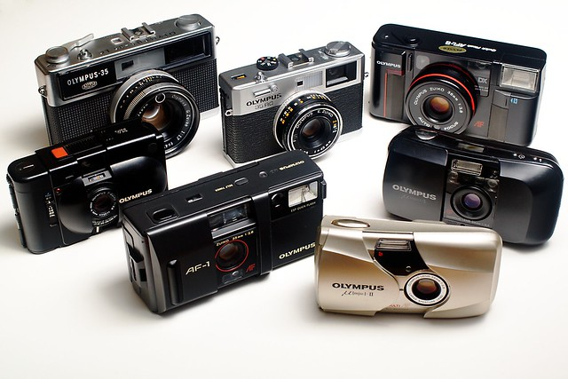 Olympus 35 mm compact evolution