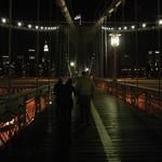 Path on Brooklyn Bridge