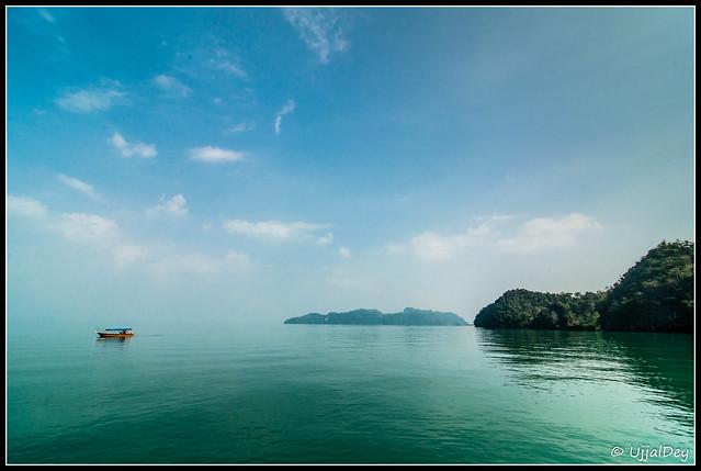 Blue Sky, Green Water...