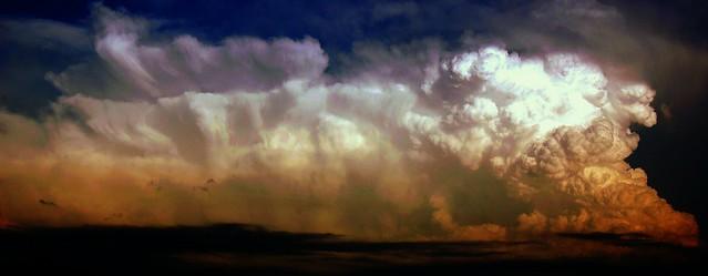 060708 - Nebraska Updraft Rising! (Pano) Remastered