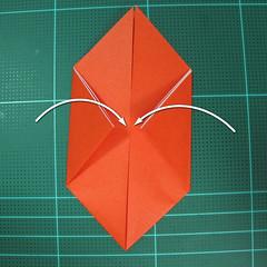 การพับกระดาษเป็นนกพิราบ (Origami pigeon) 00007