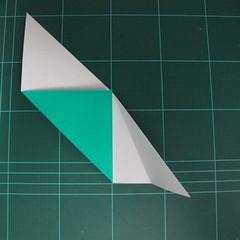 การพับกระดาษเป็นรูปเรือมังกร (Origami Dragon Boat) 011