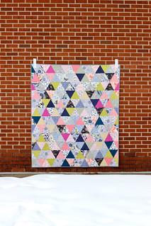 Triangularity Quilt Pattern