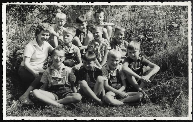 Archiv M239 Jungenklasse bei Quedlinburg, 1960er