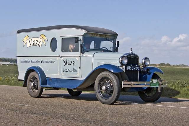 Ford Model A Commercial Van 1931 (4229)