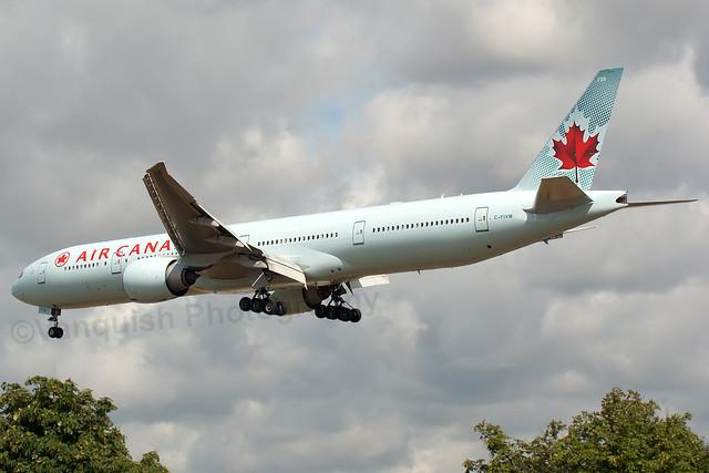 C-FIVM Air Canada B777-300 London Heathrow Airport Archive