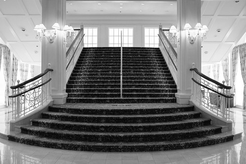 Beautiful stairs at Disney's Grand Floridian Resort | by Will Hucks