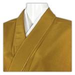 1000円出品 4/12 PM21時締め切り  しつけ付 未使用 美品 正絹 紬地 色無地 紋無し 春の装い 単衣 芥子色 です。   芥子色の素敵な柳絞りの色無地です♪ 紋無しの色無地は街着感覚で着用していただけますますので、用途が広がります。  これからの季節にピッタリな単衣の紋無しの色無地でございます。  カジュアルに半巾帯や名古屋帯にも合いますし、 普段着よりももう少しお洒落に着たいという方は、重い柄ではない袋帯に合わせることもできます。   お茶やお花、書などのお稽古ごとに・・・ 散策・・・小旅