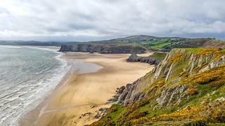 Three Cliffs Bay, The Gower Peninsula | by Allan Hopkins