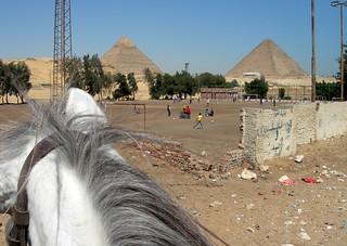 Soccer games in Giza