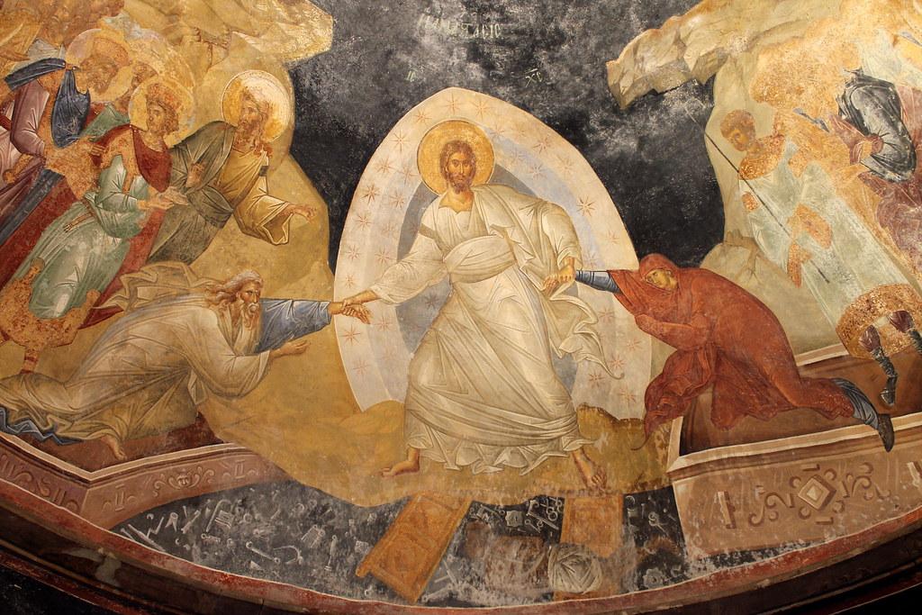 Anastasis (Harrowing of Hell, or Christ in Limbo), Parekkl…   Flickr