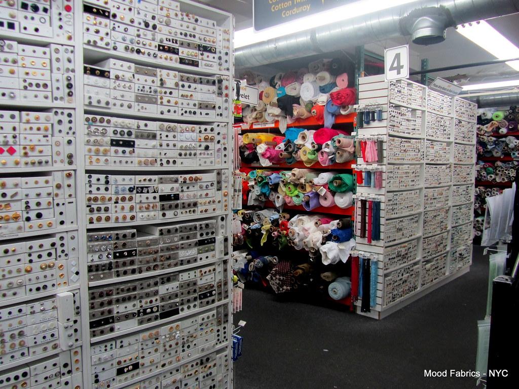 Mood Fabrics - New York, NY (2) | NYC ADVENTURE – Mood Fabri
