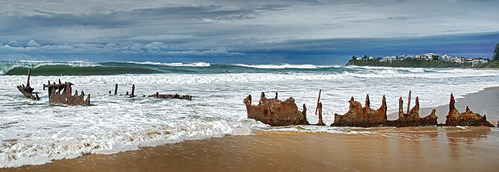 SS Dicky @ Dicky Beach | by PSherriff
