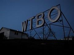 WTBO sign at night [03]