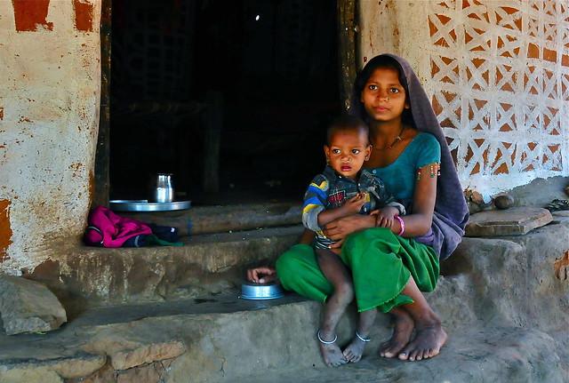 India- Gujarat- Adiwasi village- (Explore)