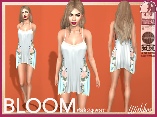 [Wishbox] Bloom (Blue) | by Wisp Jinn [Wishbox]