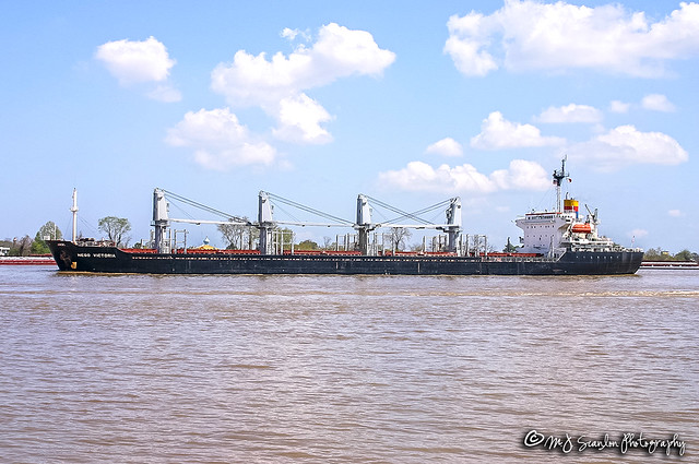 Nego Victoria   Mississippi River   New Orleans
