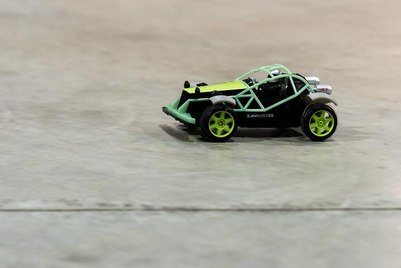 Ethan's RC car.