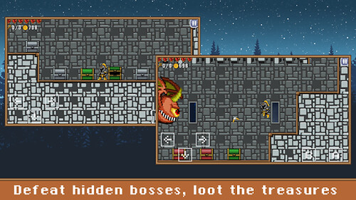 ROGUE CASTLE per Android - un divertente platform game in pixel art GRATUITO!