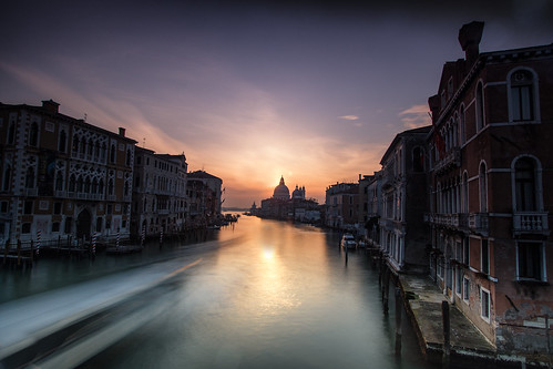 venice italy venetian camcam grand canal santa maria basilica della salute long exposure